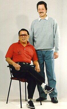 Sigung Wong Kiu en Cheung Moon Yan Sifu Wachtberger
