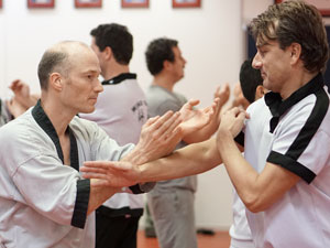 Wing Chun Kung Fu in actie